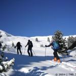 Die Berglandschaft des Sellraintals eignet sich hervorragend für Skitouren