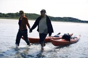 Meereskajak-Touren zählen in der Region Ostjütland zum  Ganzjahrestourismus