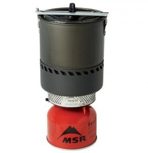 Der Outdoor-Kocher Reactor Stove von MSR bietet auch bei  Minusgraden eine zuverlässige Brennleistung.   Bild: www.tapir-store.de