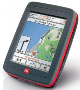 Schnitt im Test gut ab: Das Outdoor Navigationsgerät von Falk.