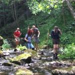 Outdoor-Erlebnis bei Wanderungen am Feistritzbach in Soboth. Foto: Copyright ÖWD