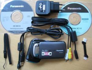 Lieferumfang der Panasonic HX-WA10