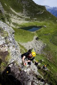 Das Montafon  bietet eine ausgezeichnete Kulisse für Kletterausflüge. Bildquelle:  Silvretta Montafon