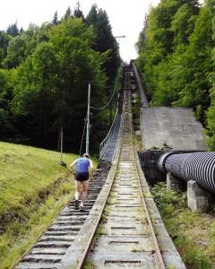 Die Europatreppe 4000 im Montafon.   Quelle: MontafonTourismus