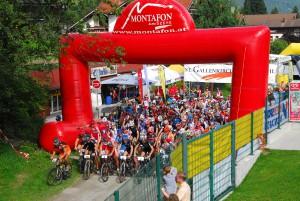 Das Outdoor-Event M3-Montafon Mountainbike Marathon findet am 30. Juli 2011 in Voralberg statt. Quelle: MontafonTourismus, Foto: Maria Fröschl