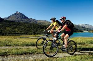 Das Tourismus-Angebot der Outdoor-Region Montafon ist perfekt auf die Bedürfnisse von Mountainbikern, Radfahrern und E-Bikern abgestimmt. Quelle: MontafonTourismus, Foto: Edi Gröger