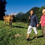 Wanderung durch die Naturlandschaften des Montafon. Quelle: MontafonTourismus, Foto: Edi Gröger