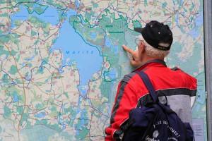 Zahlreiche Seen laden zum Baden, Angeln oder Wassersport ein - Bild: P. Frischmuth