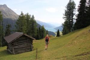 Outdoor-Aktivitäten im Tiroler Oberland.   Foto: © Brigitte  Bonder