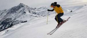 Skifahren in Graubünden