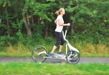 Fitnesstraining an der frischen Luft: Mit dem FreeCross kommt der erste fahrbare Crosstrainer auf den Markt