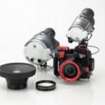 Fotos und Videos auch bei Outdoor-Aktivitäten im Wasser mit dem Unterwassergehäuse PT-050 für die Olympus XZ-1 +