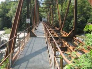 Brücke über die Maggia im Kanton Tessin