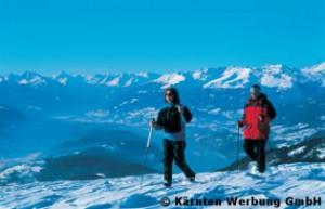 Erlebnisse in Kärntens Eis- und Schneelandschaften