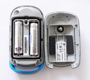 Magellan eXplorist 110 Batteriefach