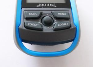 Magellan eXplorist 110 Bedienelemente