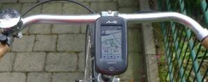 Mio Cyclo 300 im Einsatz