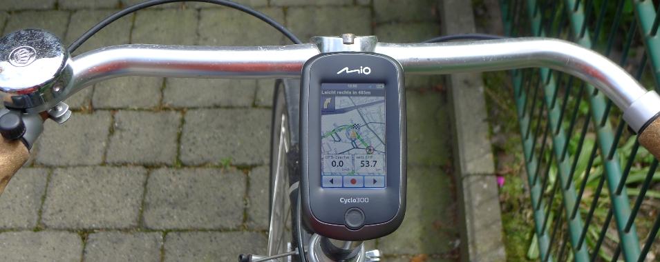 test fahrrad navi mio cyclo 300 outdoor test. Black Bedroom Furniture Sets. Home Design Ideas