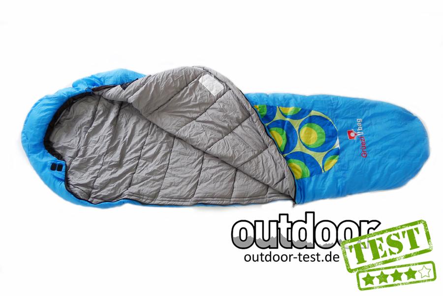 Wie findet man sehr bekannt klassischer Chic Test: Grüezi Bag Blueball Schlafsack | Outdoor-Test