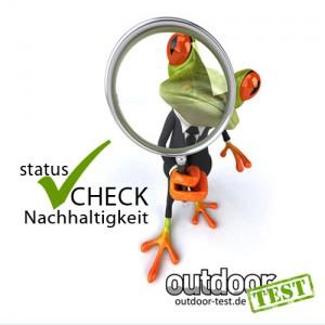 statusCHECK Nachhaltigkeit 2012 Outdoorbranche