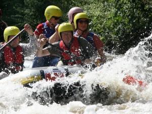 Outdoor-Test Rafting auf der Erft (Bildquelle: Querfeldeins)